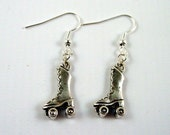 Roller Skate Earrings - Roller Derby Earrrings - Roller Disco Earrings