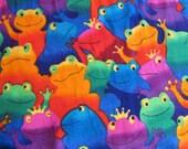 "Frog Prince ""Toad"" fabric (7 dollars per yard)"