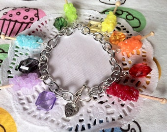 Rock Candy Charm Bracelet