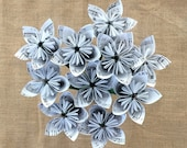 Custom Sheet Music Paper Flowers {10 Small Size} - Made to Order, You Choose Any Song Ever Written