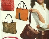 Purses~Handbags~Tote Bags 5 Styles UNCUT NEW LOOK Sewing Pattern 6425