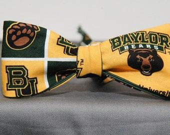 Baylor Bears Bow tie
