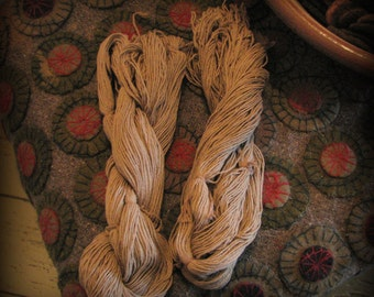 Age Dyed Penny Rug String Threads