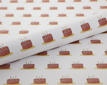 Birthday Cake Gift Wrap, Wrapping Paper, Custom Gift Wrap, Baby Gift Wrap, Birthday Gift Wrap, Beautiful Gift Wrap. Baby Shower