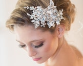 Wedding Lace Headpiece, Bridal Hair Accessory, Lace Headpiece,
