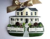 Custom listing lalessio- one Custom House Ornament- a cherished keepsake of your home