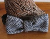 Harris Tweed Bow Tie, Bowtie, Cool Bow Ties, Handmade, Vintage Tweed, Wedding Bow Tie, Unisex Women, Groomsmen Gifts