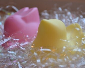 Easter Chick and Bunny Soap Set -  Children's Soap - Soap for Kids - Springtime - Easter Soap - Childrens Soap - Soap for kids - Bunny Soap