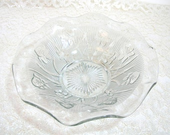 Jennette Glass Iris Bowl