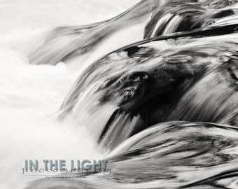 Creek - Fine Art Black & White Photography