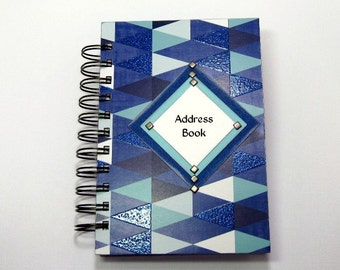 Address Book - Sparkling Rhombuses