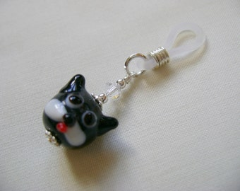 SALE!! Cute Cat Face Needle Holder