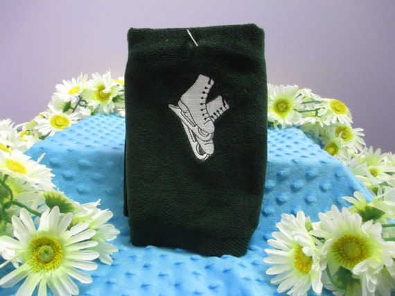 Sports Towel Personalized Ice Skates