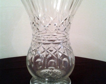 CLEARANCE PRICED - Crystal Glass Vase