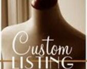 Custom Listing for Ivette