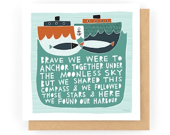 Our Harbour - Greeting Card (1-6C)