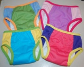 LuluBellDesigns SURPRISE AIO Waterproof Underwear - Solids - You Choose Size and Gender