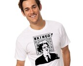 Dr Brule BRINGO bingo funny Quote fan art Mens white red t Tee Shirt eric birthday hunk comedy present doctor rules and gift sign tim show