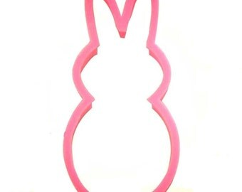 Peep bunny cookie cutter, Easter cookie cutter, Peep candy cookie cutter, 3.5""