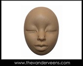 Mold No.213 (Face with African looking) by Veronica Jeong