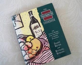 "Vintage Book Cookbook ""The Union Square Cafe Cookbook"" 1994 Favorite Restaurant Recipes"