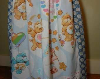 Vintage Care Bear Hippie Skirt