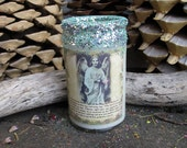 Rita's Hoodoo Guardian Angel White Light Candle Juju - Let Your Angels Heal You with White Light