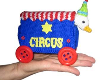 Animal CIRCUS pdf email Knit PATTERN