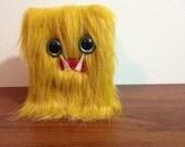 Golden Mini-Monster Journal- Two Turquoise Eyes