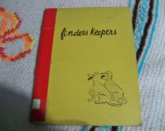 finders keepers hard cover 1951