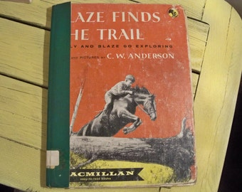 blaze finds the trail  eighth edition 1962