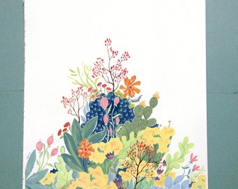 Botanical Illustration Print