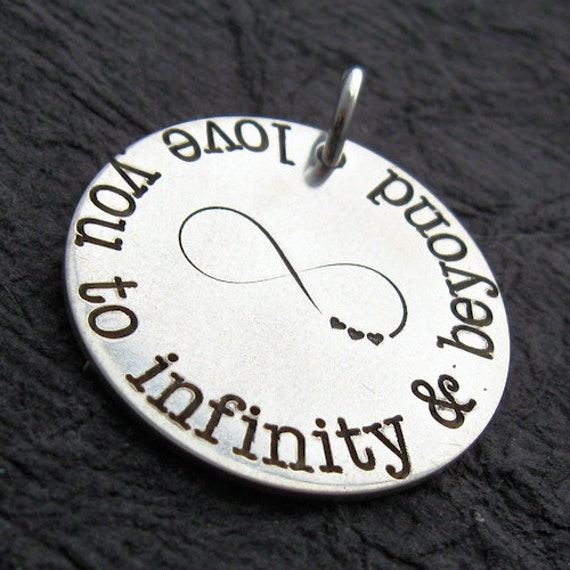 "Engraved Personalized 7/8"" Charm - Name Charm - Silver Jewelry -  GINA personalized charm - 7/8"" size"
