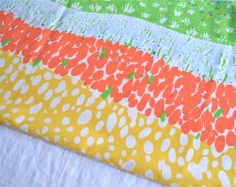 Vintage Pillowcase - Landscape Garden and Sky - King Size
