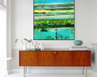 Custom Work of similar Abstract Contemporary Mixed Media Painting