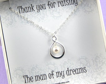 Mother Of The Groom Gift - Gift Boxed Jewelry Thank You Gift - Wedding gift for Mother - Wedding gift for Mother in law