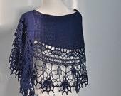 ILVY, Crochet shawl pattern pdf