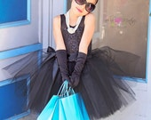 Breakfast at Tiffany's tutu dress costume size 7 custom handmade
