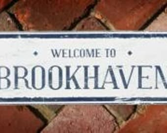Welcome to Brookhaven 5 x 16