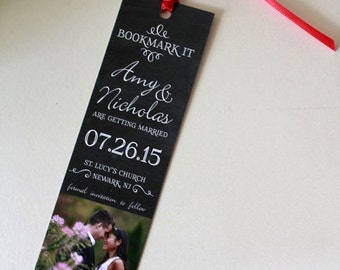 Save the Date Bookmarks Any Event FREE SHIPPING. Literary