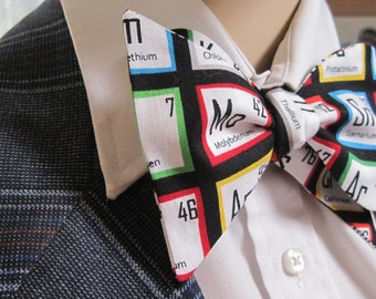 Periodic Table of Elements Bow Tie