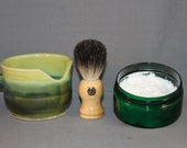 Shave Set - Ladysea & Dapper Dragon - Green