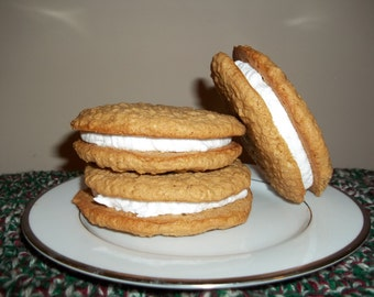 Oatmeal Cream Sandwich Cookies