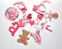 pink realtree camo baby shower decorations all pink it 39 s a girl banner