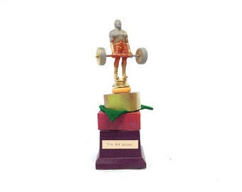 Trophy you DESERVE - You did alright