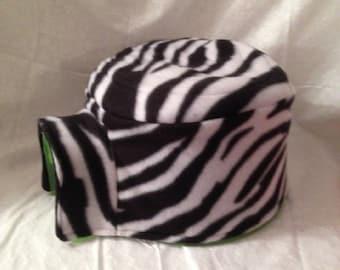 Zebra Igloo House Fleece Cover Print Fleece Hedgehog Pocket Pet