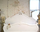 Painted Cottage Shabby  French Romantic  Bed  QUEEN  BD705