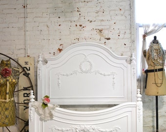 Painted Cottage Romantic French Bed LGCHAR