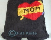 PDF Knitting Pattern - Butt Knits Biker Babe Longies/Shorties