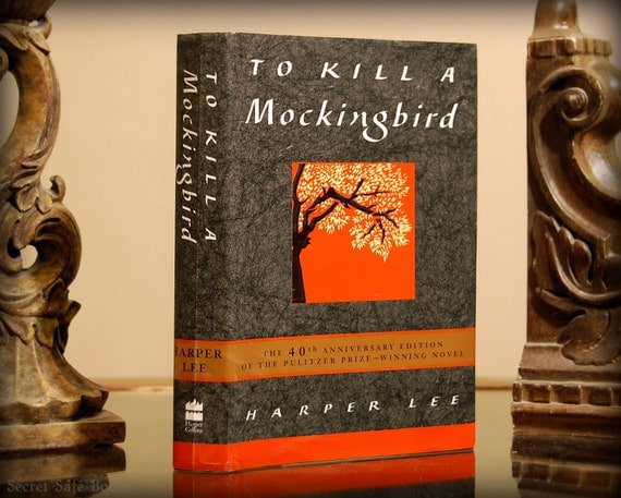 Hollow Book Safe (To Kill a Mockingbird)